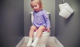 Trẻ tự ý thúc được việc đi vệ sinh
