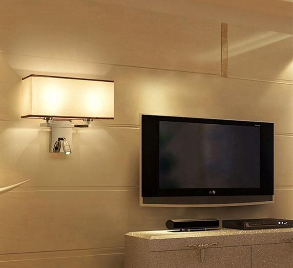 Mang thiết kế chụp đèn hình hộp chữ nhật đơn giản nhưng sang trọng và hiện đại