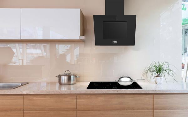 Mặt bếp từ Frico có khả năng chịu nhiệt và hấp thụ nhiệt cao