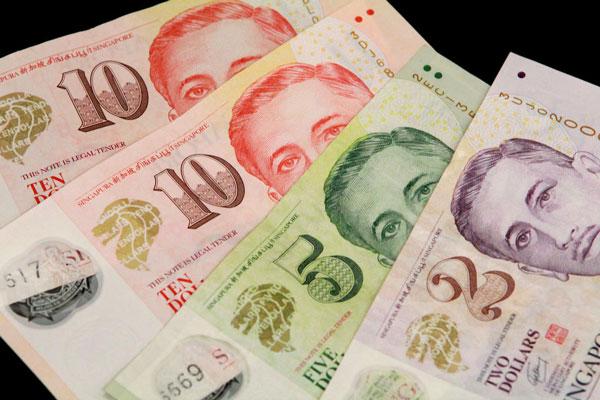đổi tiền singapore